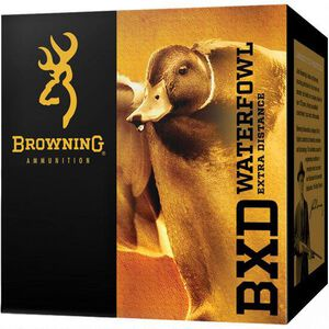 "Browning BXD Waterfowl 12 Gauge Ammunition 25 Rounds 3.5"" BB Steel 1-1/2oz"