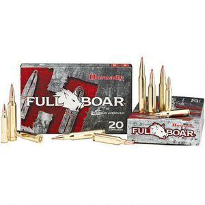 Hornady Full Boar 7mm-08 Remington Ammunition 20 Rounds GMX 139 Grains 80577