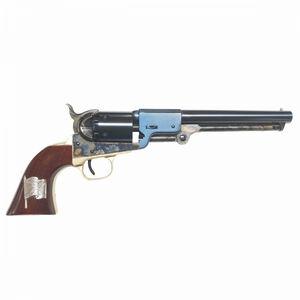 "Cimarron Leech & Rigdon Black Powder Revolver 7.5"" Barrel 6 Shot Color Case Hardened Finish"
