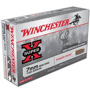 Winchester Super-X 7mm Rem Mag 150 Grain SP 20 Rnd Box