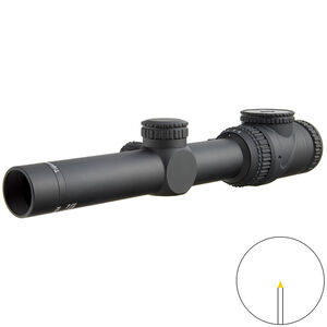 Trijicon AccuPoint 1-6x24 Scope Triangle Post Amber Illuminated Reticle MOA Adjustment 30mm Tube Black