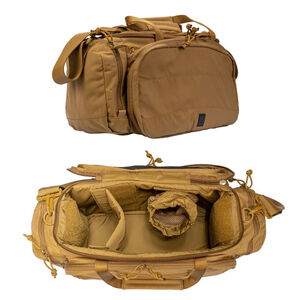 Grey Ghost Gear Range Bag 9x20x7 1260 Total Cubic Inches 500D Nylon Coyote Tan