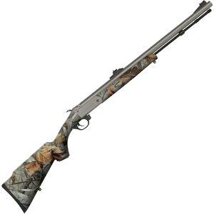 "Traditions Buckstalker Break Action Black Powder Rifle .50 Caliber 24"" Barrel G2 Vista Camo Synthetic Stock CeraKote Finish R72103547"