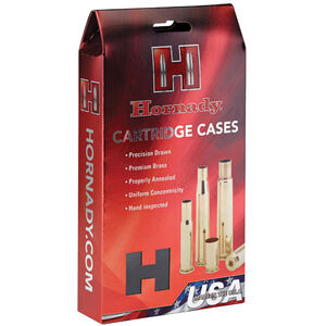 Hornady Unprimed Brass 20 Cases .26 Nosler