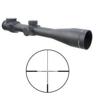 Trijicon 2.5-12.5x42 AccuPoint Riflescope Duplex Reticle Green Dot 30mm Tube Fiber Optic and Tritium Illumination Matte Black Finish TR26-C-200104