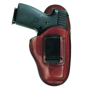 Bianchi 100 Professional Ruger LC9 with Crimson Trace Laserguard IWB Right Hand Leather Tan 26084