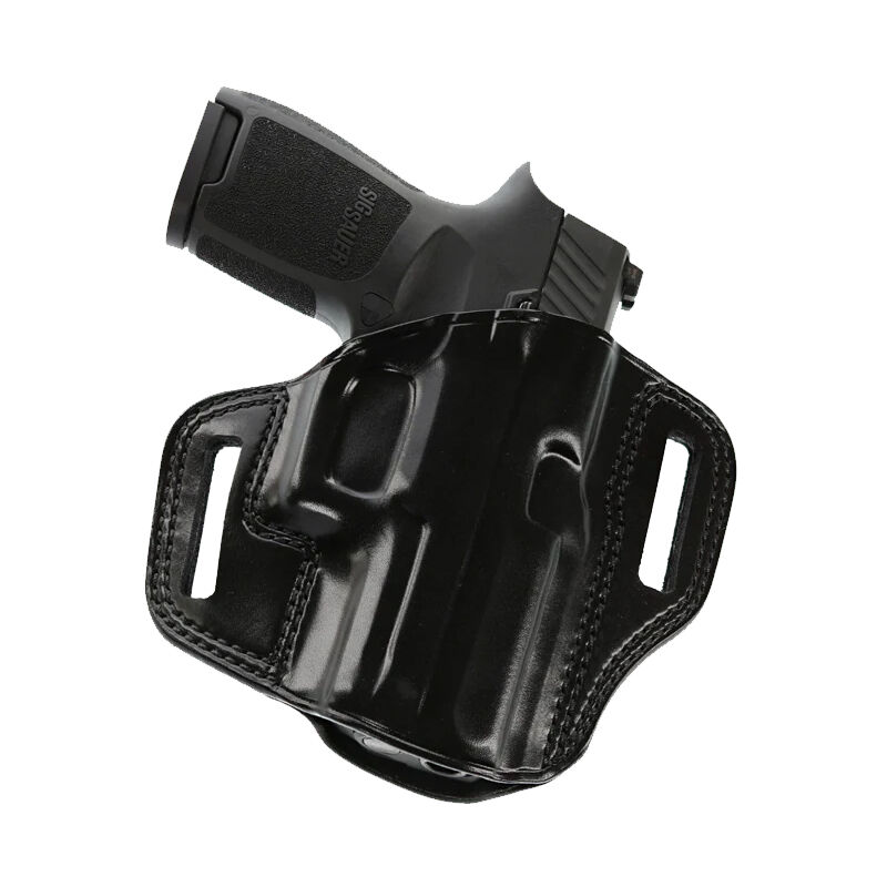 """Galco Combat Master Springfield XD 9/40 3"""" Belt Holster Leather Right Hand Black CM444B"""