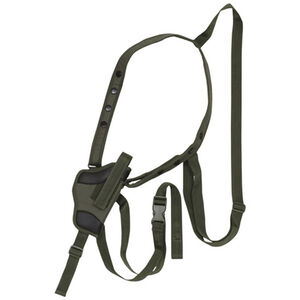 "Fox Outdoor Tactical Small Arms Shoulder Holster 4"" Right Hand Nylon Olive Drab Green 58-040"