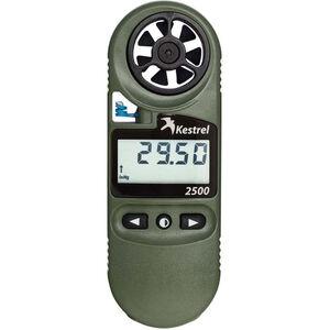 Kestrel 2500NV Pocket Weather Meter With Night Vision Backlight Compass OD Green 0825NV