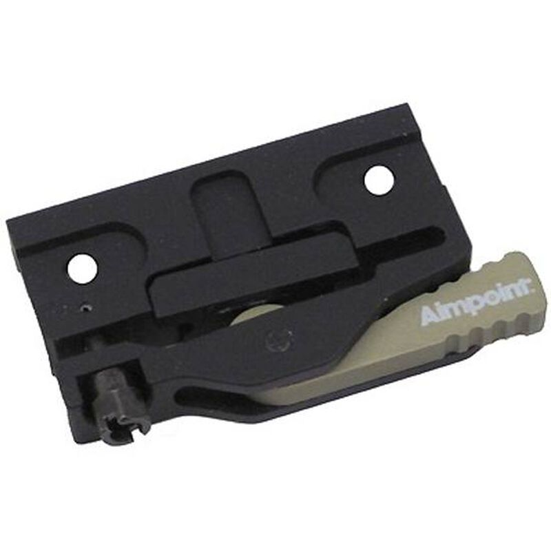 Aimpoint LRP Lever Release Picatinny Mount Quick Release Black 12198