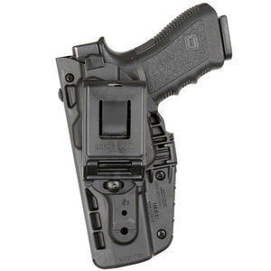 Safariland 7379 ALS Clip-On Belt Holster Fits GLOCK 17/34/41 with Light Right Hand SafariSeven Plain Black