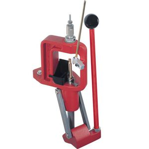 Hornady Lock-N-Load Classic Loader Single Stage Press Cast Aluminum Frame Red 085001