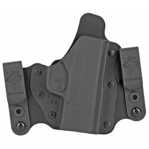 "DeSantis Intruder 2.0 Holster IWB/OWB for Springfield XDS 3.3/4.4"" Barrel Models Right Hand Draw Kydex Black"