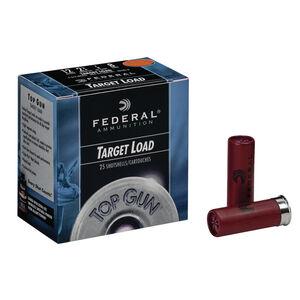 "Federal Top Gun Extra Lite 12 Gauge Ammunition 25 Rounds 2.75"" #8 Lead 7/8 Ounce TG12EL8"