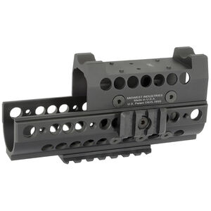 Midwest Industries AK-47 SS Handguard with Topcover Black