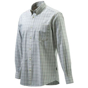 Beretta Men's Classic Drip Dry Shirt Long Sleeve Large ERCU Checkered
