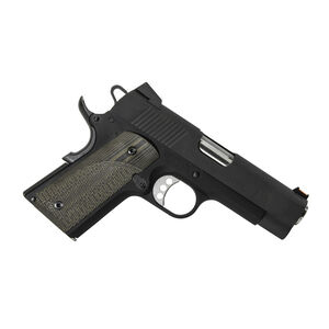 Pachmayr G10 Tactical Grips 1911 Officer Checkered Green/Black 61140