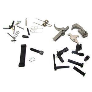WMD Guns AR-15 Lower Parts Kit Mod 3 NiB-X Parts without Pistol Grip Nickel Boron X/Nitromet Finish