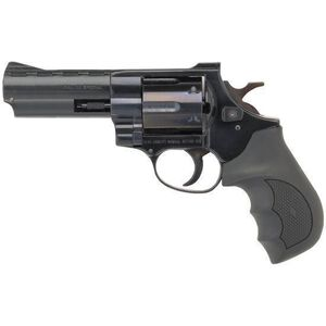 """EAA Windicator Revolver .38 Special 4"""" Barrel 6 Rounds Rubber Grips Blue Finish 770123"""