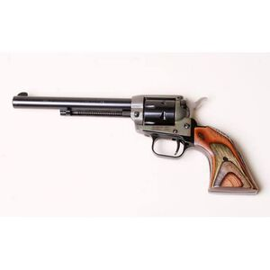 "Heritage Rough Rider Revolver Single Action Army 22LR And 22WMR 6.5"" Barrel Alloy Color Case Hardened Camo Grips 6 Round Fired Case Right Hand 33.4oz Fixed Sights 22MCH6"