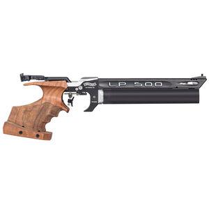 Walther LP500 Expert .177 Pellet Single Shot PCP Air Pistol Right Handed Medium Wood Grip