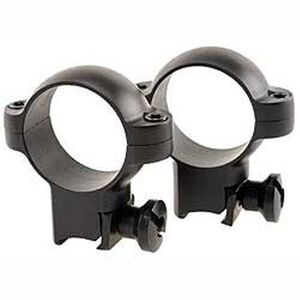 Burris Deluxe Steel .22 Scope Rings High Matte Black Finish 420076
