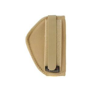 """Uncle Mike's Belly Band/Body Armour Holster Size 3 2"""" 5 Shot Revolvers/Sigma .380 Ambidextrous Natural 87453"""