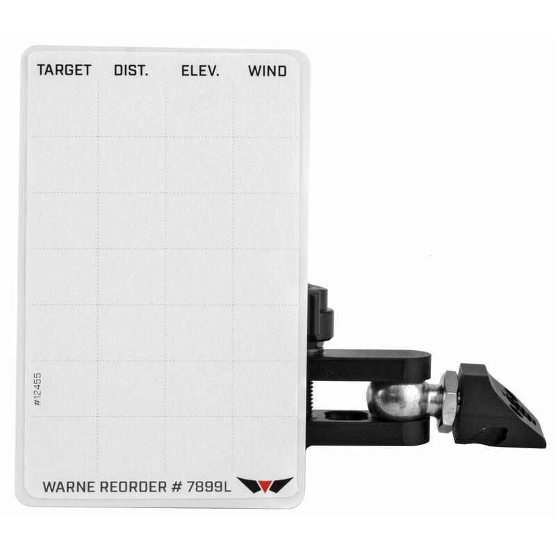 Warne Skyline Precision Mount Data Card Holder Matte Black