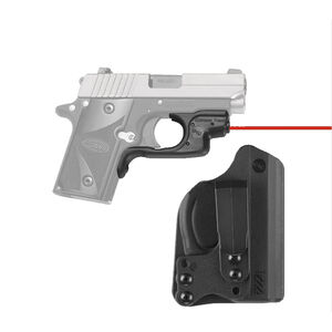 Crimson Trace LG-492-HBT Red LaserGuard with Blade-Tech Holster For SIG Sauer P238/P938 Right Hand Draw Matte Black