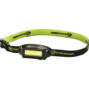 Streamlight Bandit Head Lamp 180 Lumens LED Rechargeable Battery Push Button Switch Headband/Hat Clip Polycarbonate Black