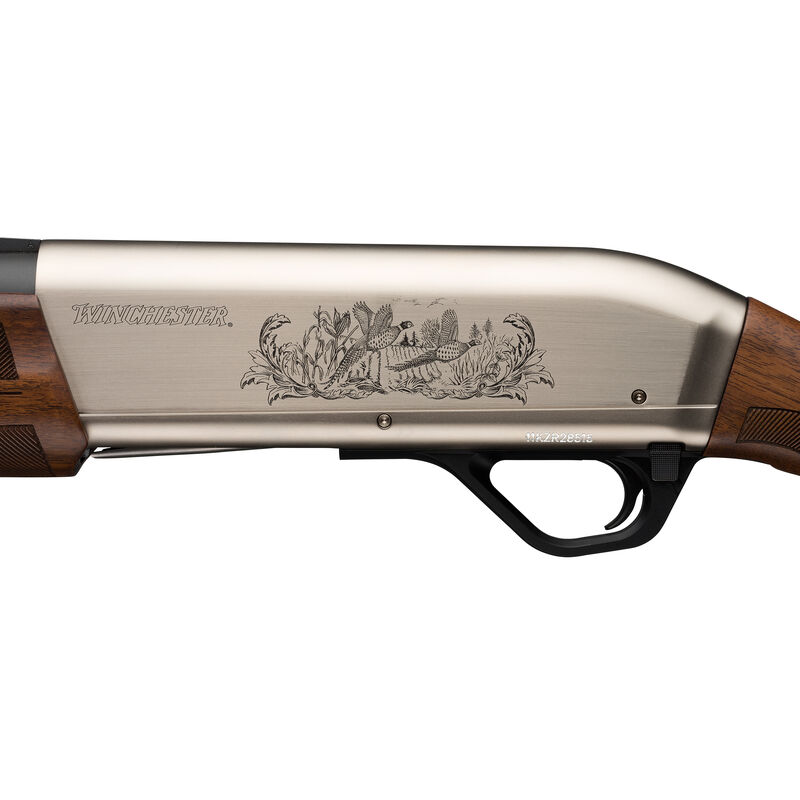 """Winchester SX4 Upland Field Semi Auto Shotgun 12 Gauge 28"""" Barrel 3"""" Chamber 4 Rounds FO Front Sight Engraved Receiver Walnut Stock Two Tone Nickel/Blued"""