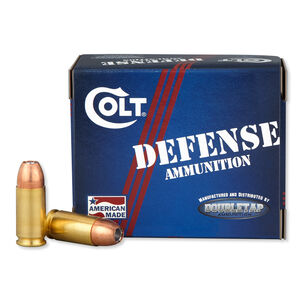 Colt Defense 9mm Luger Ammunition 20 Rounds 124 Grain Jacketed Hollow Point 1100fps