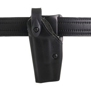 Safariland 6280 SLS Mid-Ride Left Hand Duty Holster Fits S&W M&P 9/40 Full Size Synthetic Leather Basketweave Black