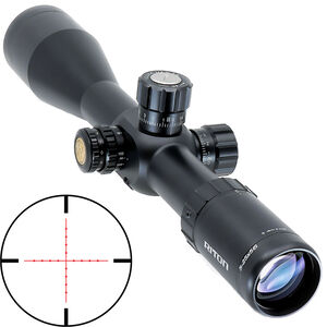 Riton RT-S Mod 7 5-25x56 Riflescope Illuminated Mil-Dot Reticle 34mm Tube 0.10 MRAD 6061-T6 Aluminum First Focal Plane Adjustable Parallax Matte Black