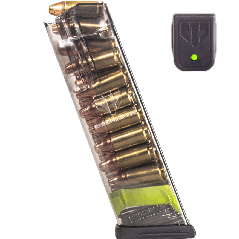 ETS 17/19/26 9mm Magazine Rapid Recognition System Polymer Green
