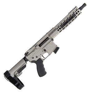 """Alexander Arms Highlander 17 HMR AR-15 Pistol 11"""" Barrel 10 Rounds Velocity Trigger Upgrade SBA3 Pistol Brace Sniper Grey Finish"""