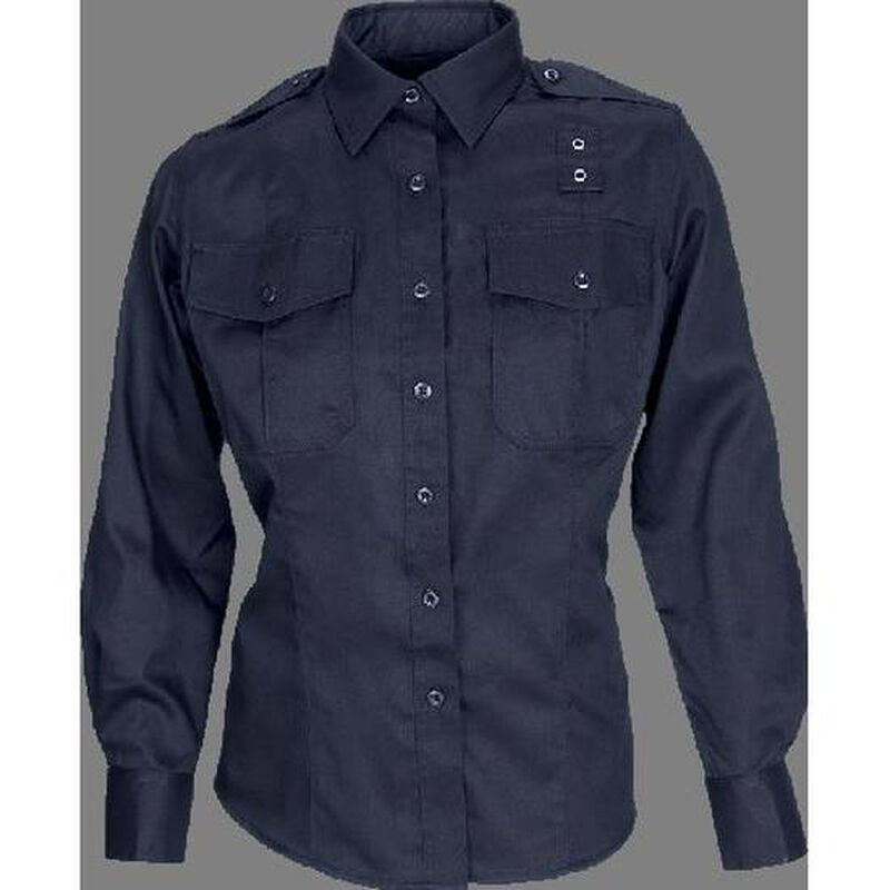 5.11 Tactical Women's Taclite Put Long Sleeve Shirt Medium Midnight Navy 62366