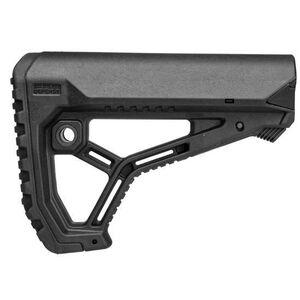 Mako Group Fab Defense AR15 Butt Stock Mil-Spec/Commercial Polymer Black
