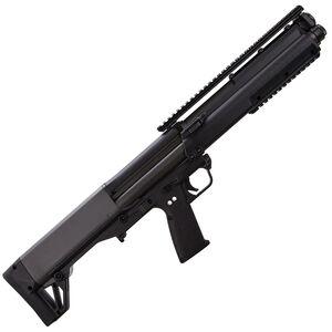 "Kel-Tec KSG Pump Action Shotgun 12 Gauge 18.5"" Barrel 3"" Chamber 12 Rounds Dual Tube Magazines Downward Ejection Ambidextrous Synthetic Stock Matte Black Finish"
