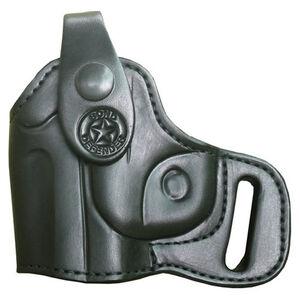 Bond Arms Backup Derringer Belt Holster Left Hand Leather Black BACKUPLH