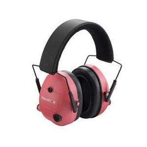 Champion Hearing Protection Electronic Earmuffs Pink 21db NRR 40975