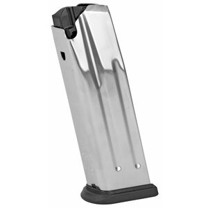 Springfield Armory XD(M) Full Size 15 Round Magazine 10mm Auto Stainless Steel Construction Natural Finish