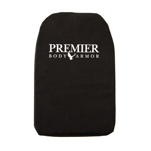 "Premier Body Armor Panel Universal Fit Small 10""x12"" Black BPP-9005"