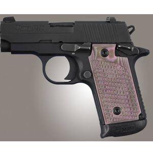 Hogue Extreme Series SIG Sauer P238 Grips G10 GMascus Pink Lava 38637