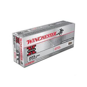 Winchester Super X .223 WSSM Ammunition 20 Rounds, JSP, 55 Grains