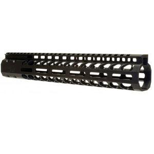 "ERGO AR-15 SuperLite Modular M-LOK Rail System 12"" Aluminum Black 4820-12"