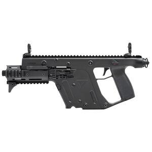 "KRISS USA Vector SDP Enhanced 9mm Luger 5.5"" Threaded Barrel 17 Rounds Optics Rail Low Profile Flip Sights QD Sling Swivel Polymer Black"