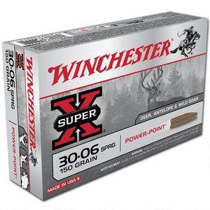 Winchester Super X .30-06 Springfield Ammunition 200 Rounds JSP 150 Grains X30061