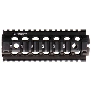 "Troy Industries AR-15 MRF-D BattleRail Drop In Quad Rail 7"" Carbine Length Aluminum Black SRAI-MRF-D7BT-00"