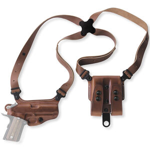 Galco Miami Classic SIG Sauer P320C and Similar Shoulder Holster Right Hand Leather Tan